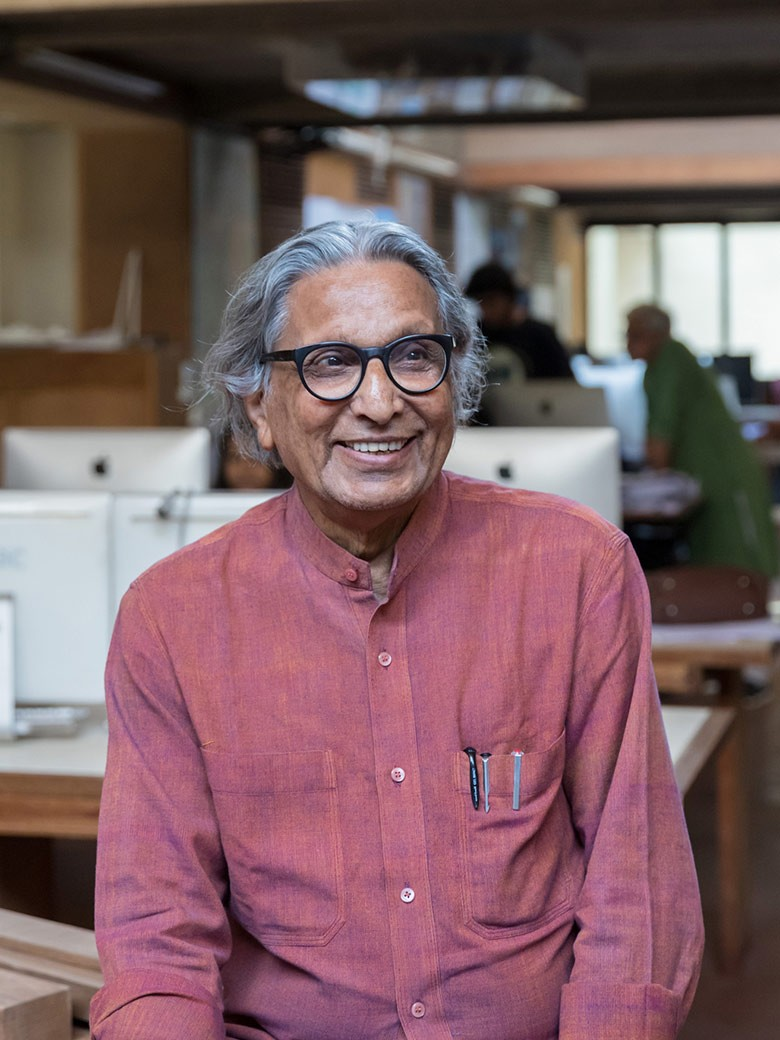 BV Doshi's retrospective at Vitra Design Museum