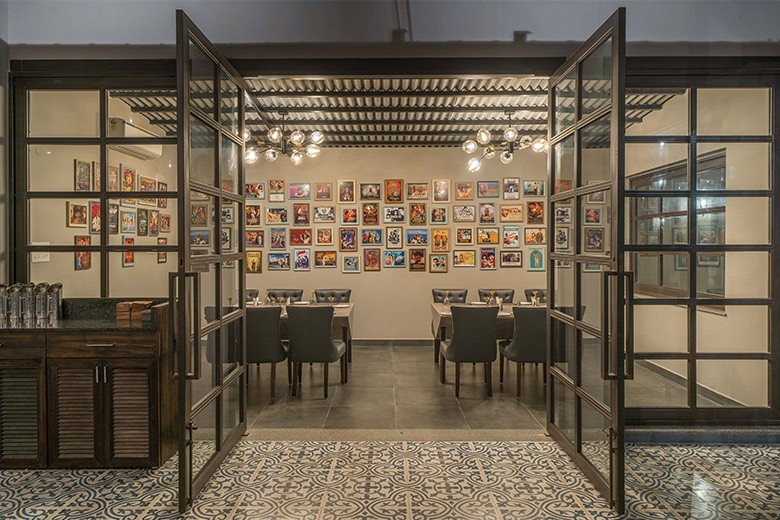 Hyderabad's Sainma restaurant is dedicated to all movie lovers