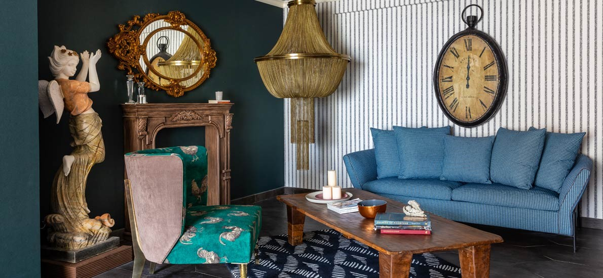 Step Into this New Delhi Home Where Eclecticism Reigns