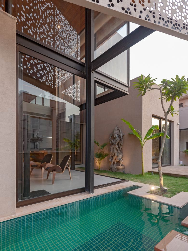 A 10 000sqft Contemporary Home In Jodhpur Goodhomes India