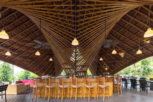 Flamingo Bamboo Bar