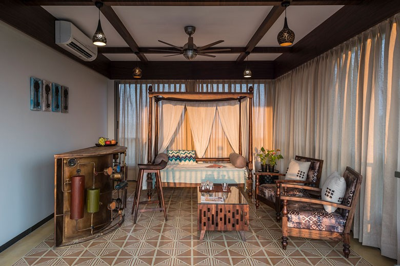 Remarkable An Indian Inspired Contemporary Family Farmhouse In Surat Interior Design Ideas Gentotthenellocom