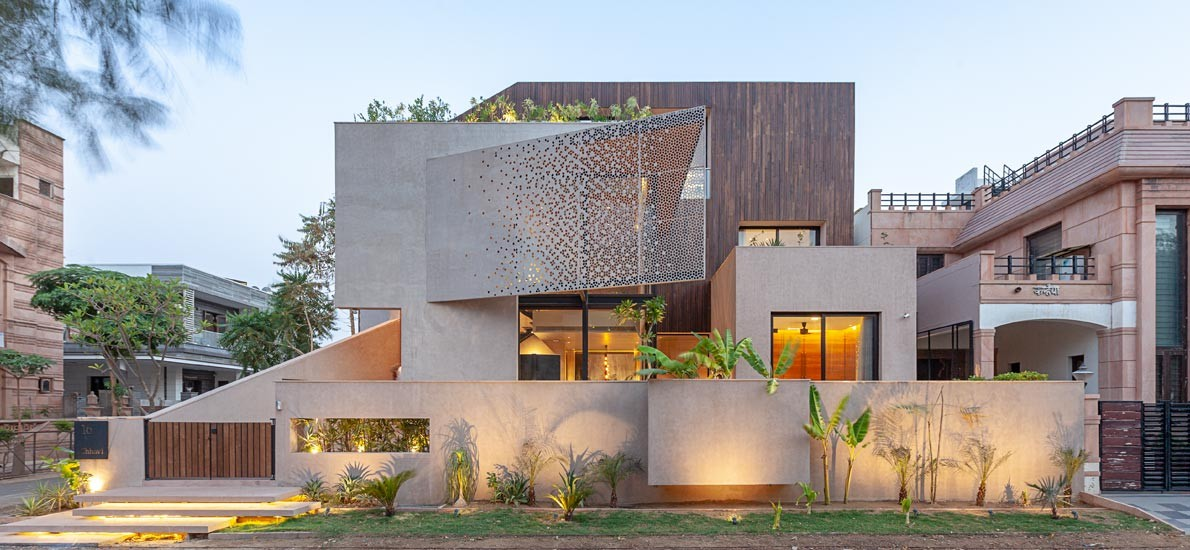 A 10,000sqft, contemporary home in Jodhpur