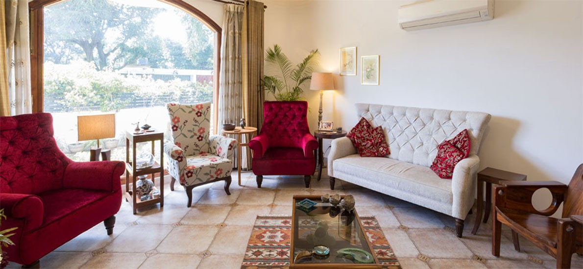 A lavish, Mediterranean style home in Chandigarh