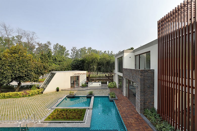 The 10,000 sqft House of Greens in New Delhi