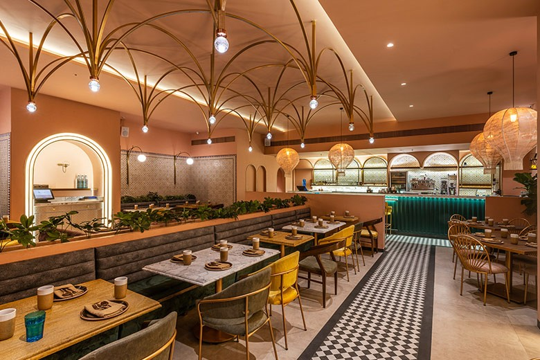 Bayroute by Shweta Kaushik channels Middle Eastern charm