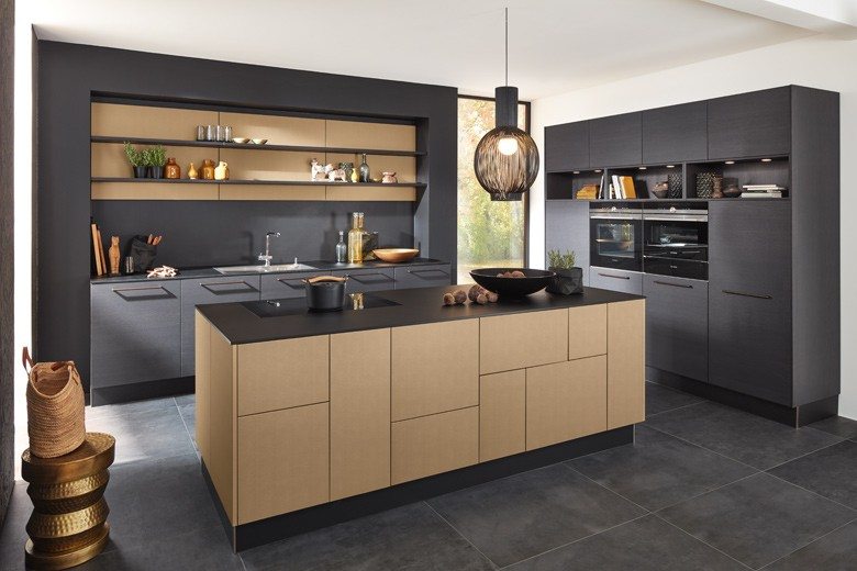 Metallic-Accents---Kitchen Trends