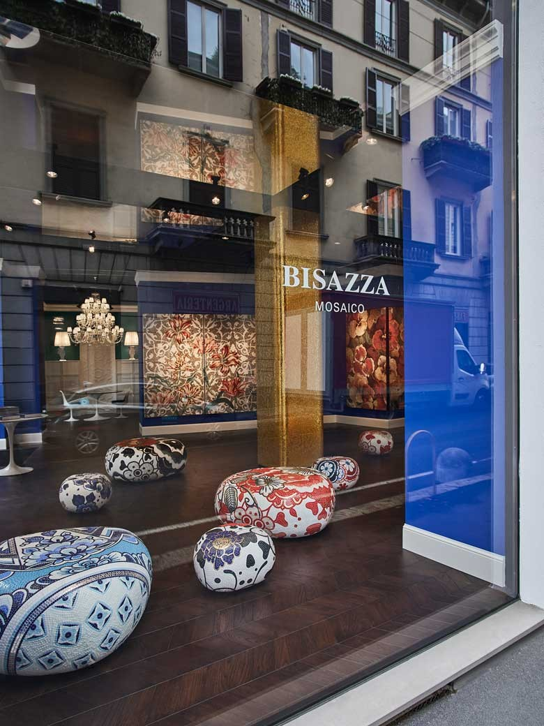 Bisazza's Milan store is a must-visit for design connoisseurs