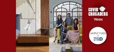 Covid Crusaders: Jaipur Rugs x reD Architects
