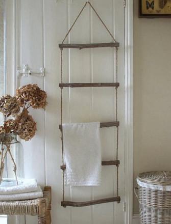 Diy Home Decor Door Ladder