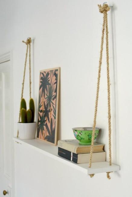 Diy Home Decor Floating Shelf