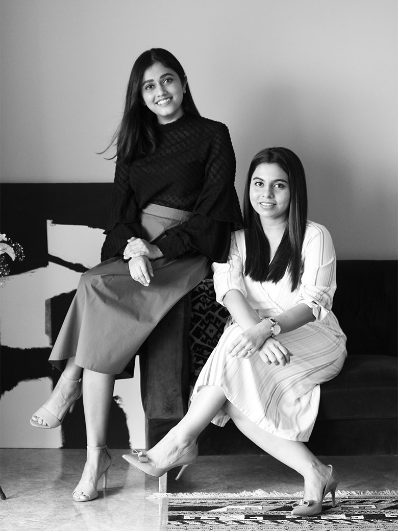 Disha Bhavsar and Shivani Ajmera, Co-founders, Quirk Studio