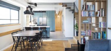 A Minimalistic Open-plan Home in Tel Aviv