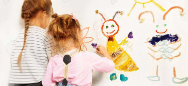 How to throw a kid-friendly wall paint party with Berger Paints