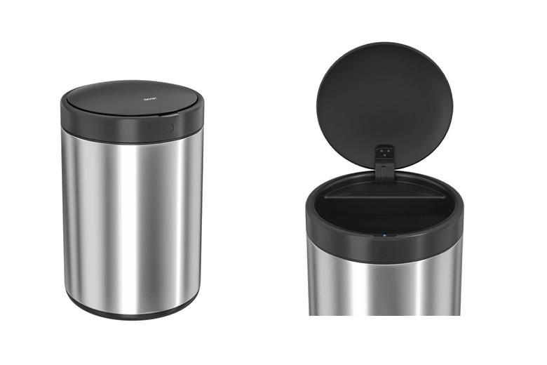 idy Up! Smart Bin Automatic Sensor Stainless Steel Dustbin