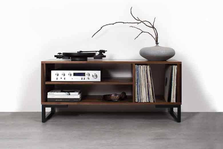 Earthy Inspired TV Unit