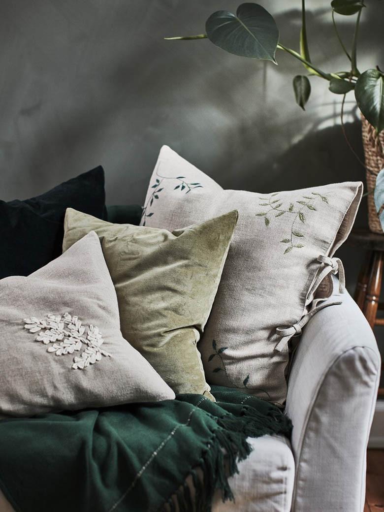 BOTANISK cushions by IKEA