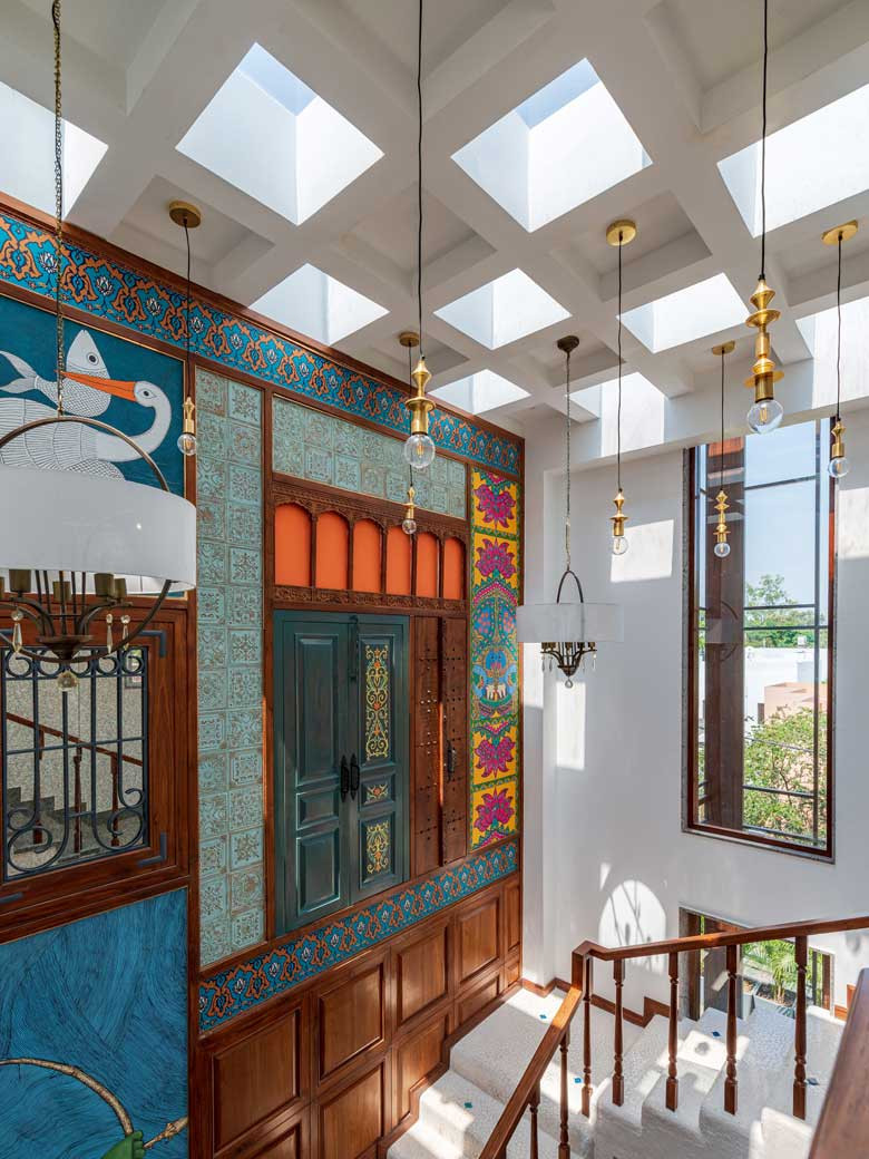 Inspired By Indian Art Forms This Home In Bhopal Is Paradise On Earth Goodhomes Co In