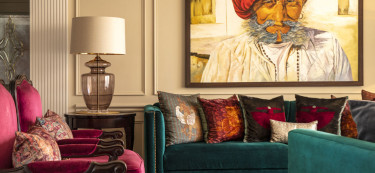 Step inside this magnificent Gurugram home for a lesson on jewel colours!