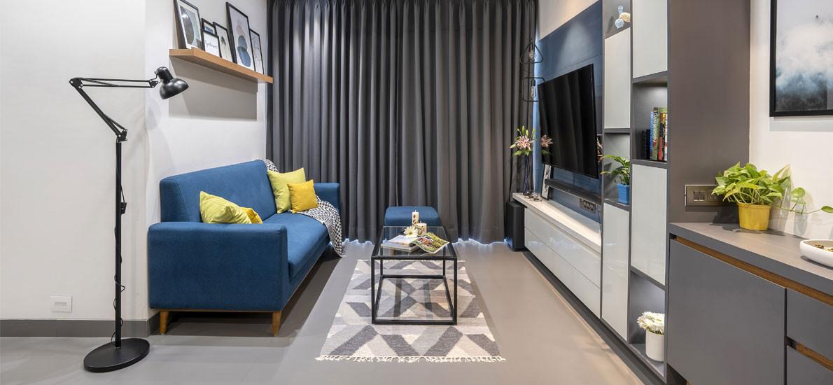 Mumbai meets Scandinavia in this urban apartment