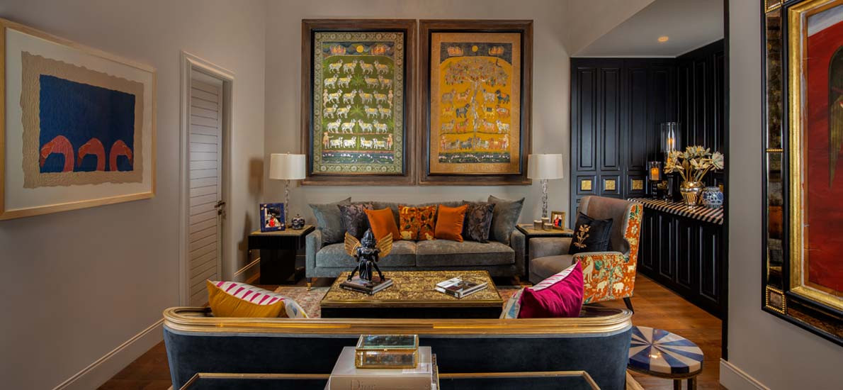 This Kolkata Home is a Lesson in Measured Maximalism