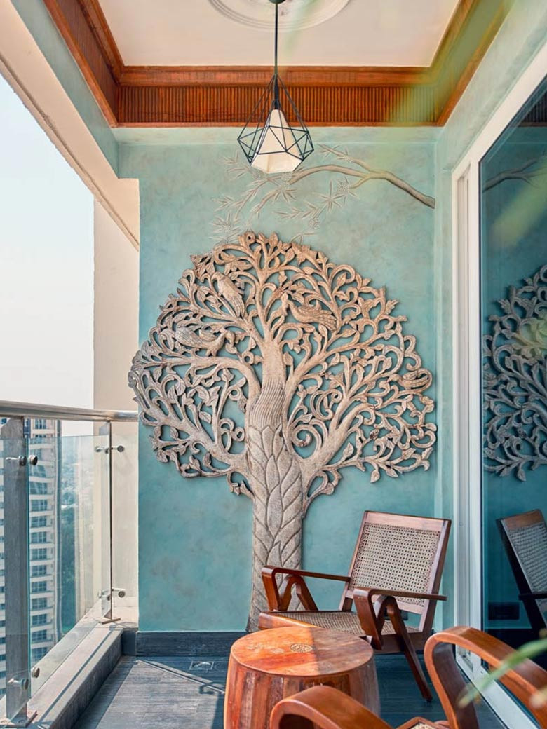 Balcony Design Art