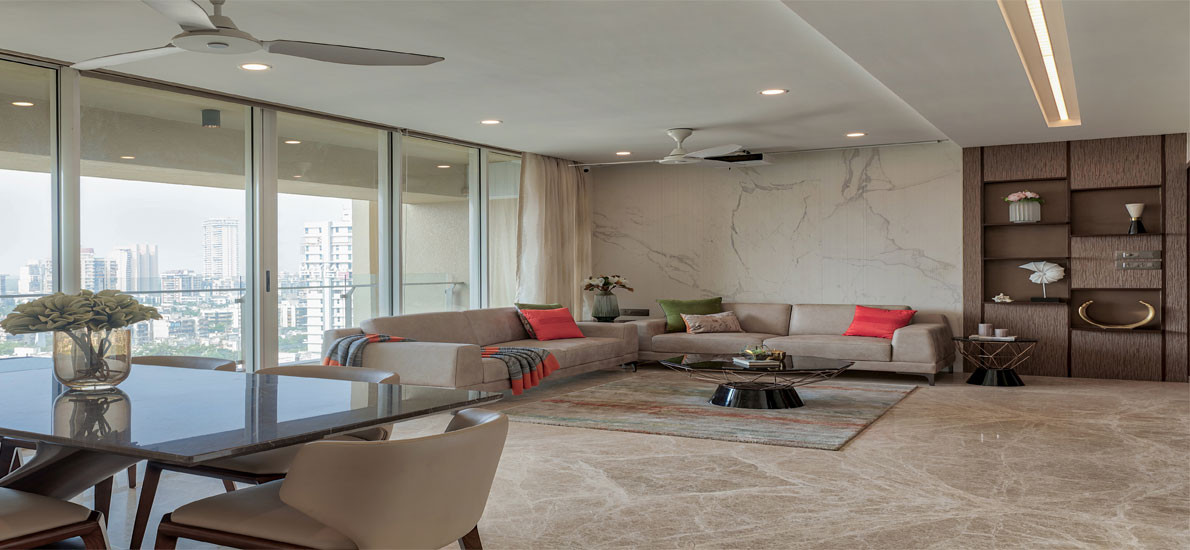 A contemporary look at a practical yet opulent family home