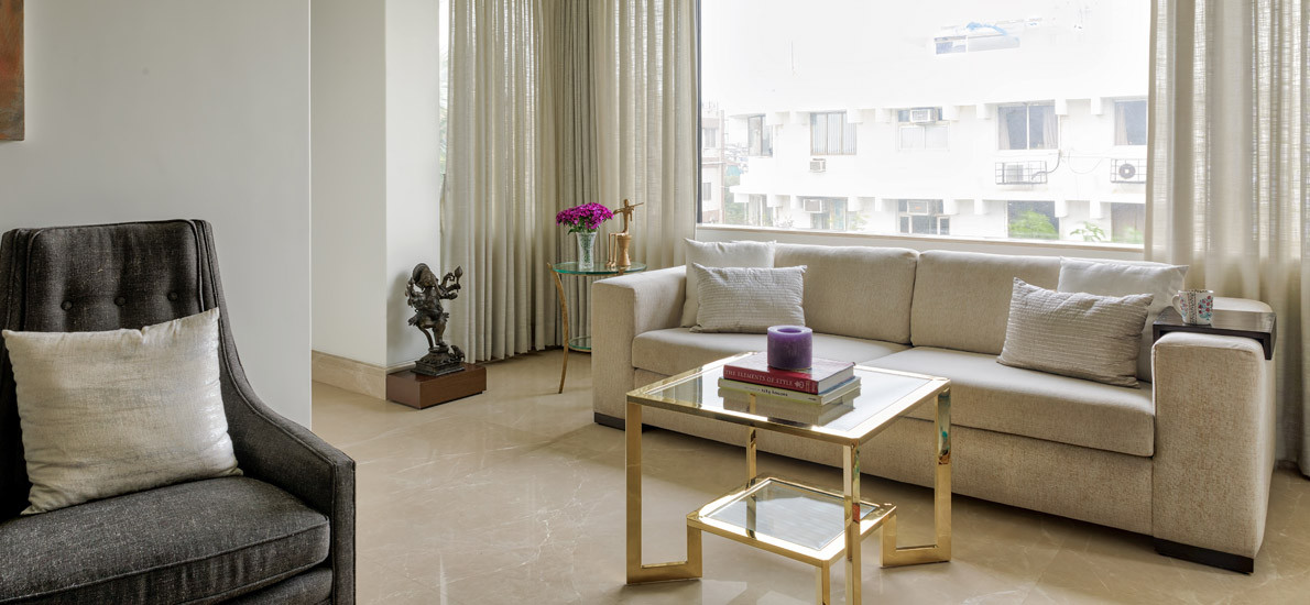 From a 1bhk to a 2bhk: This 800sqft bachelorette pad is eclectic & minimal