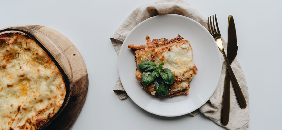 This saucy no-veggie lasagna is the perfect weekend indulgence