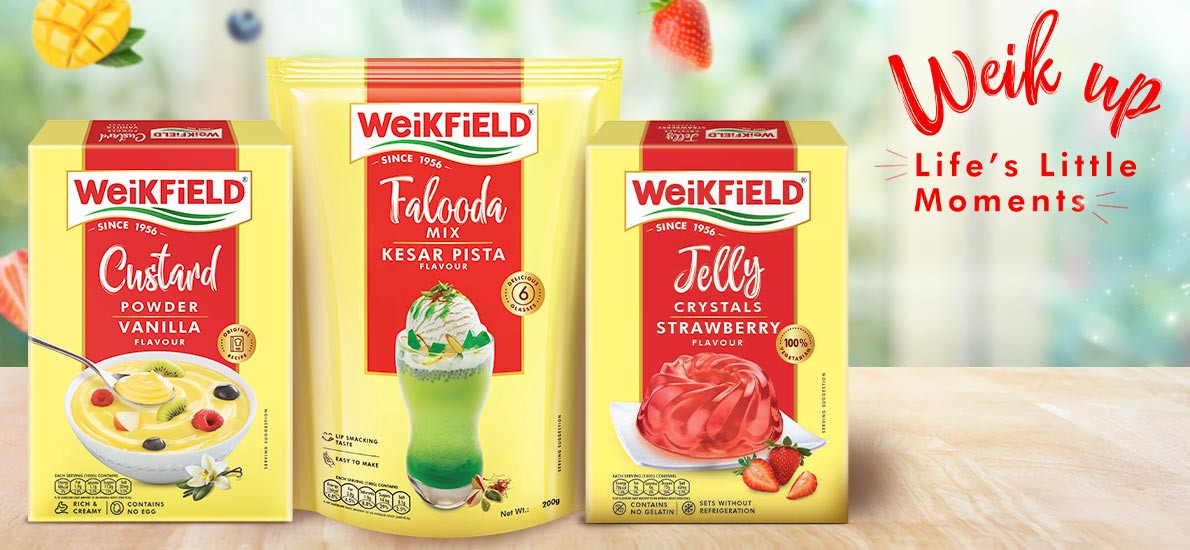 COOL UP WITH THESE YUMMY SUMMER TREATS FOR THE FAMILY FROM WEIKFIELD FOODS