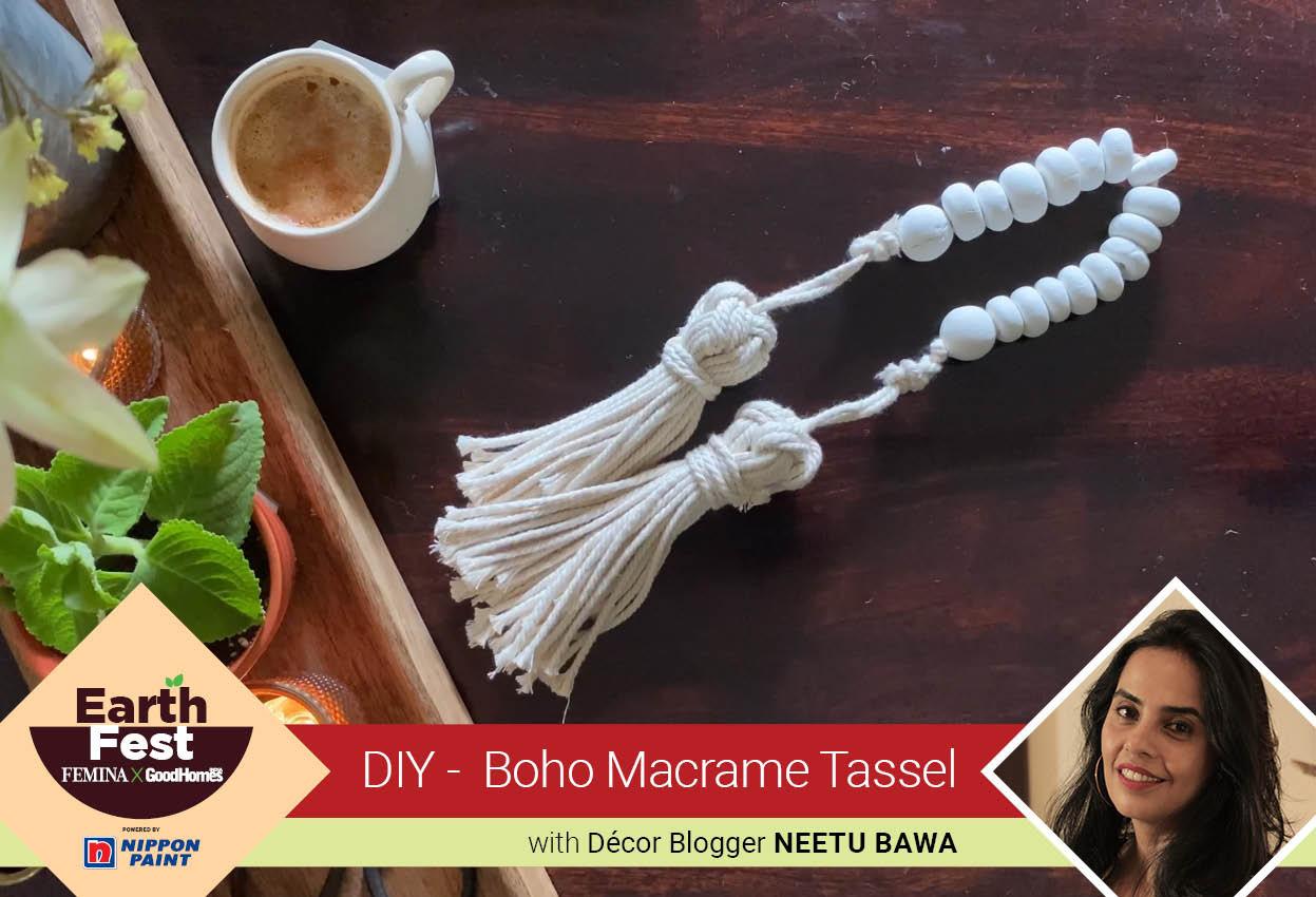 DIY- Boho Macrame Tassel
