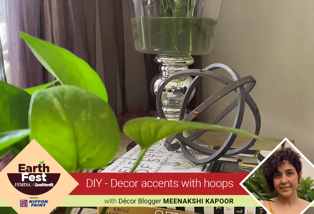 DIY- Decor Accents with Hoops