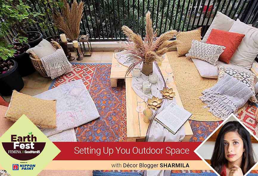 Setting up you outdoor space